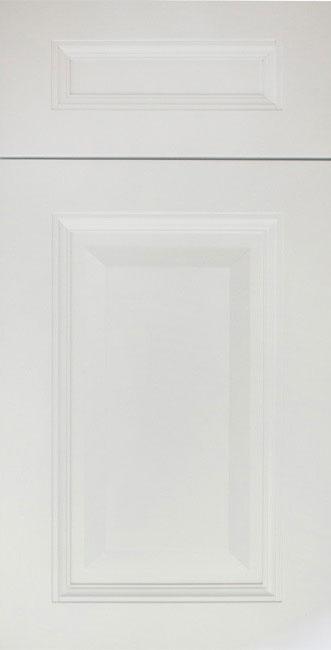 Unassembled Elegent White cabinets