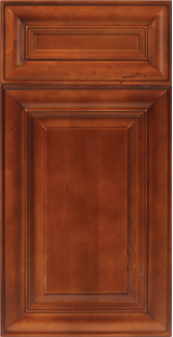Unassembled Coffee Cherry cabinets