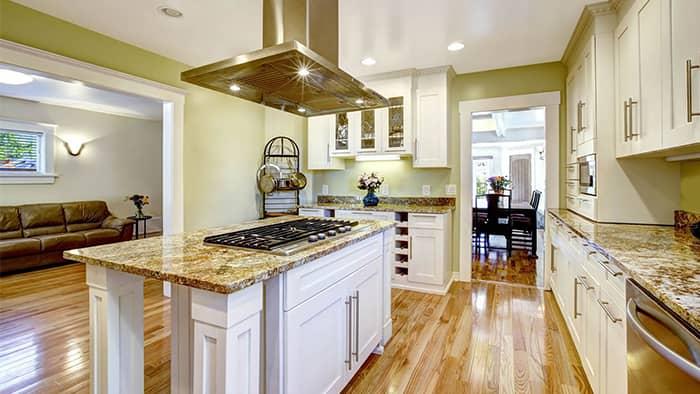 Dove White Kitchen1
